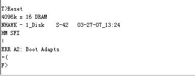 《7200.10 不认盘(F级)恢复一例子》