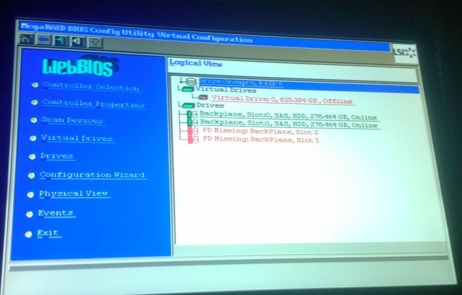 吕梁IBM3650服务器上门恢复成功